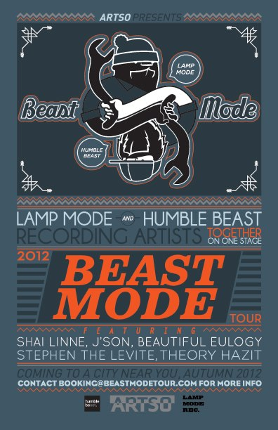 """The Beast Mode Tour"""