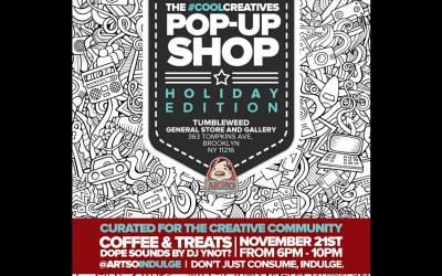 #CoolCreatives Pop Up Shop in NYC